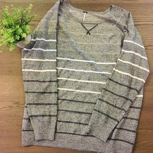 Poof by Nordstrom Rack Size 3X Striped Sweater